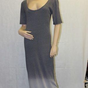 Bar III Gray Ombre Maxi Dress